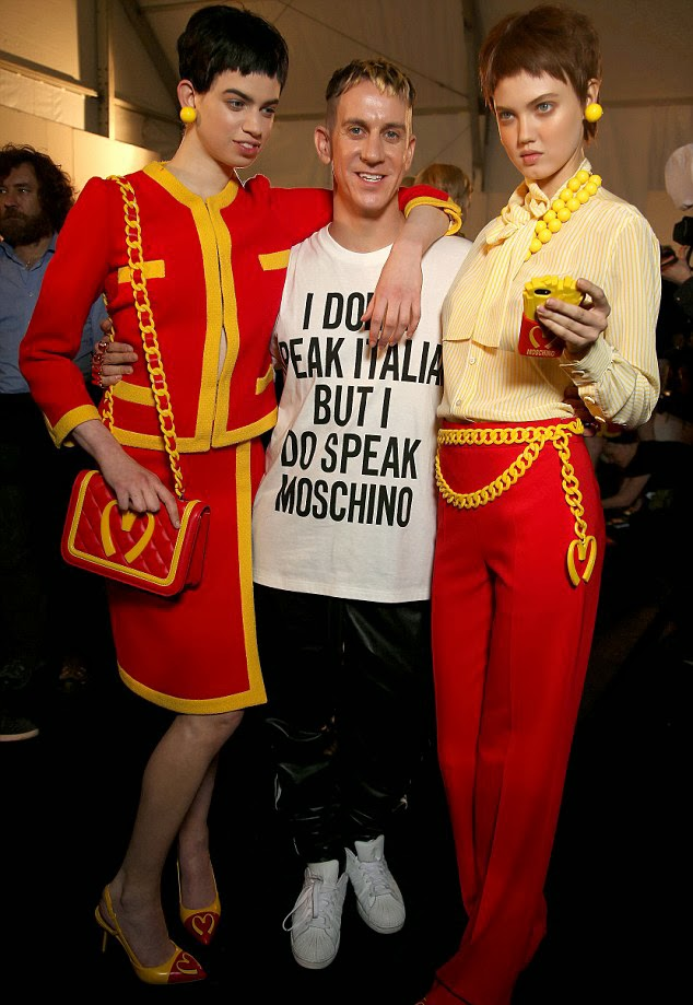 Jeremy Scott in Moschino