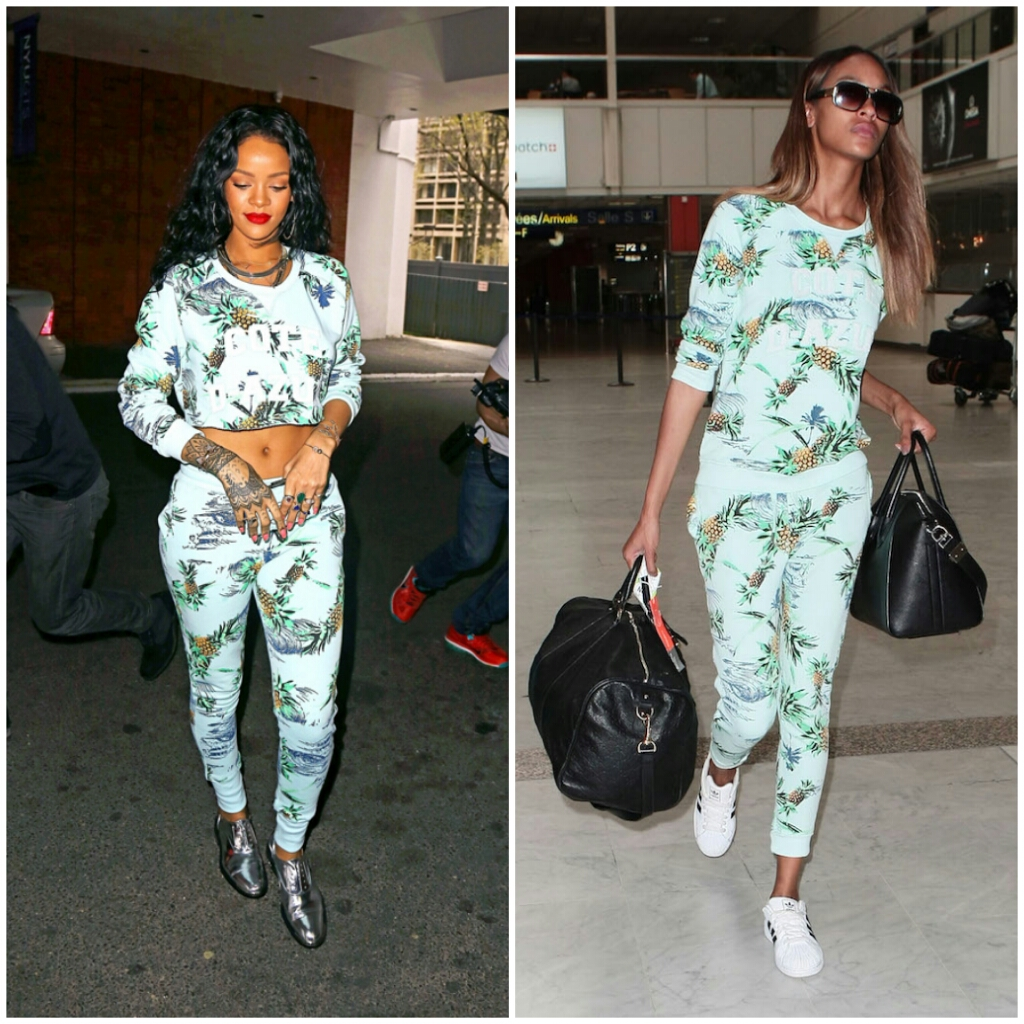 Rhianna vs Jourdan Who wore it best?