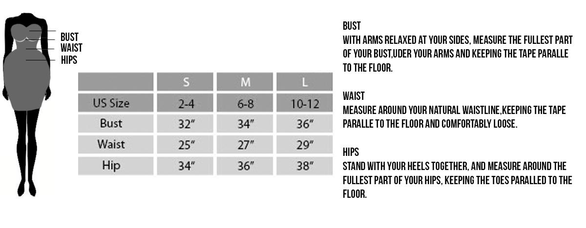 WC Size Chart